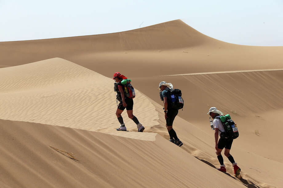 Question 10:Which is larger: the Sahara Desert or the United States? Photo: PIERRE VERDY, AFP/Getty Images / 2013 AFP