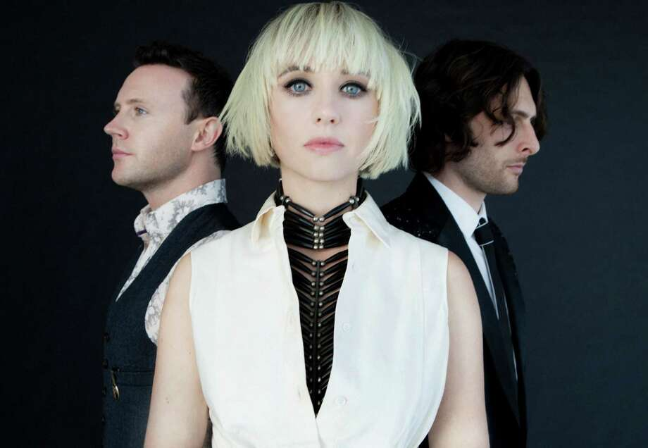 The Joy Formidable, a Welsh band with a '90s-influenced sound, plays Upstate Concert Hall at 7:30 p.m. Sunday in Clifton Park. Click here for more information. (James Minchin)