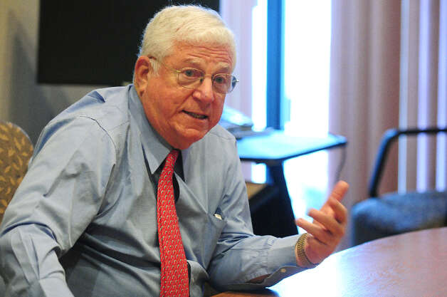 Former Lt. Gov. Richard Ravitch speaks during a Times Union editorial board meeting Wednesday, April 10, 2013, in Colonie, N.Y. (Will Waldron/Times Union) Photo: Will Waldron, Albany Times Union