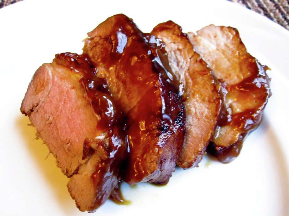 glazed pork tenderloin/foodwhine.com