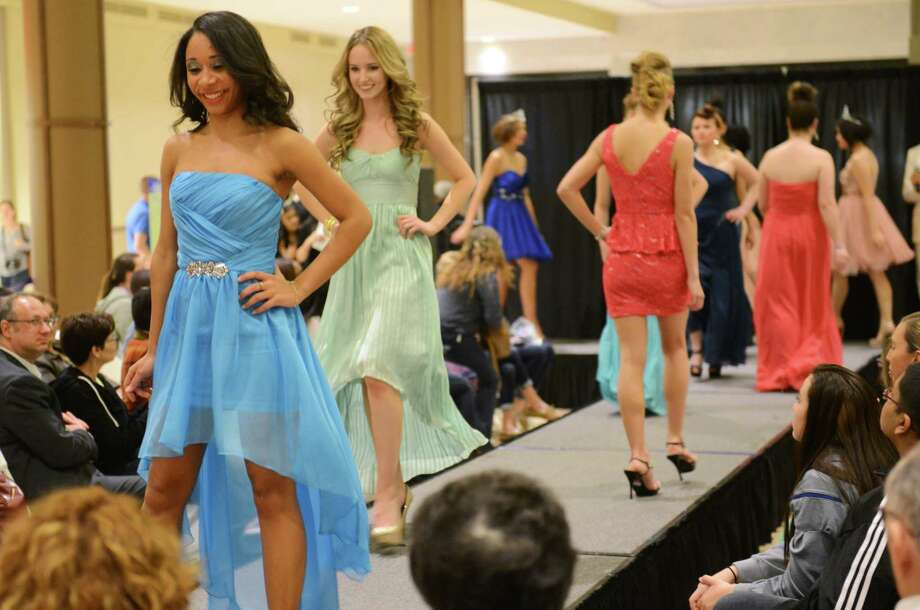 "Students can get ready for prom at the The ""Epic Prom"" fashion show in Fairfield, which features a prom dress fashion show with styles available for purchase as well as a used dress drive. The event takes place Sunday from 3-6 p.m. at the Scandinavian Club in Fairfield. Find out more.  Photo: Tyler Sizemore / The News-Times"