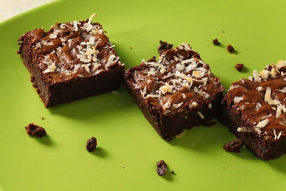 Ginger Coconut Brownies Photo: Craig Lee, Special To The Chronicle