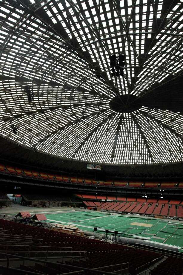 The Harris County Sports and Convention Corp., continues to study how to best re-purpose the Astrodome. Photo: Mayra Beltran, Staff / Houston Chronicle