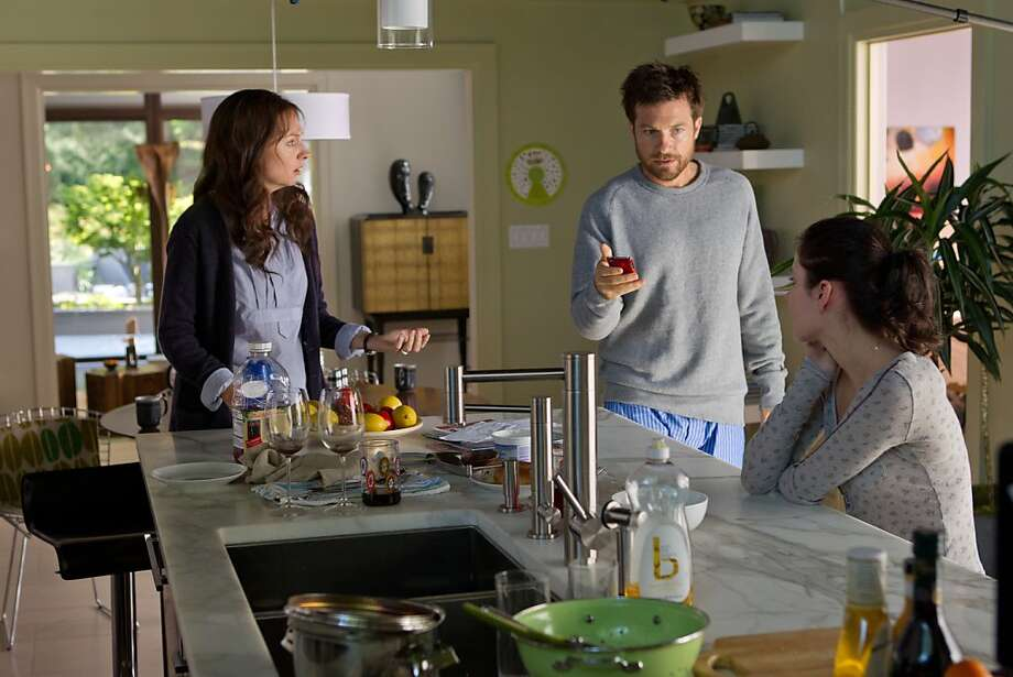 "Hope Davis (left), Jason Bateman and Haley Ramm in ""Disconnect,"" about Internet dangers like bullying, identity theft and sexual exploitation. Photo: Phil Bray, LD Entertainment"