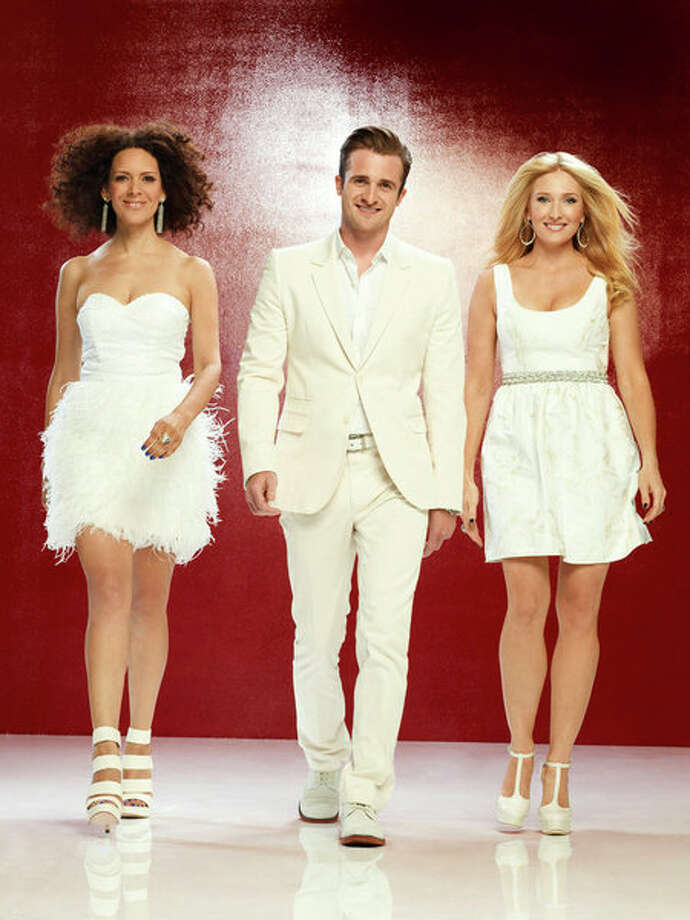 "The ""Ready for Love\"" matchmakers: Tracy McMillan, Matt Hussey, Amber Kelleher-Andrews Photo: NBC, Joseph Cultice/NBC / 2012 NBCUniversal Media, LLC"