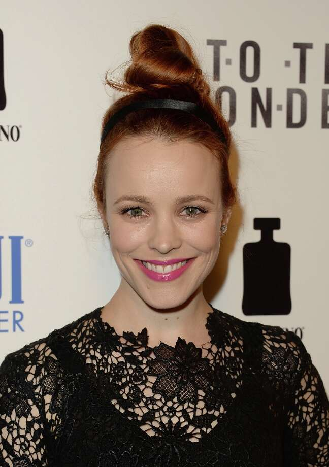 Actress Rachel McAdams attends the premiere of Magnolia Pictures\' \'To The Wonder\' at Pacific Design Center on April 9, 2013 in West Hollywood, California. Photo: Jason Merritt, Getty Images / 2013 Getty Images