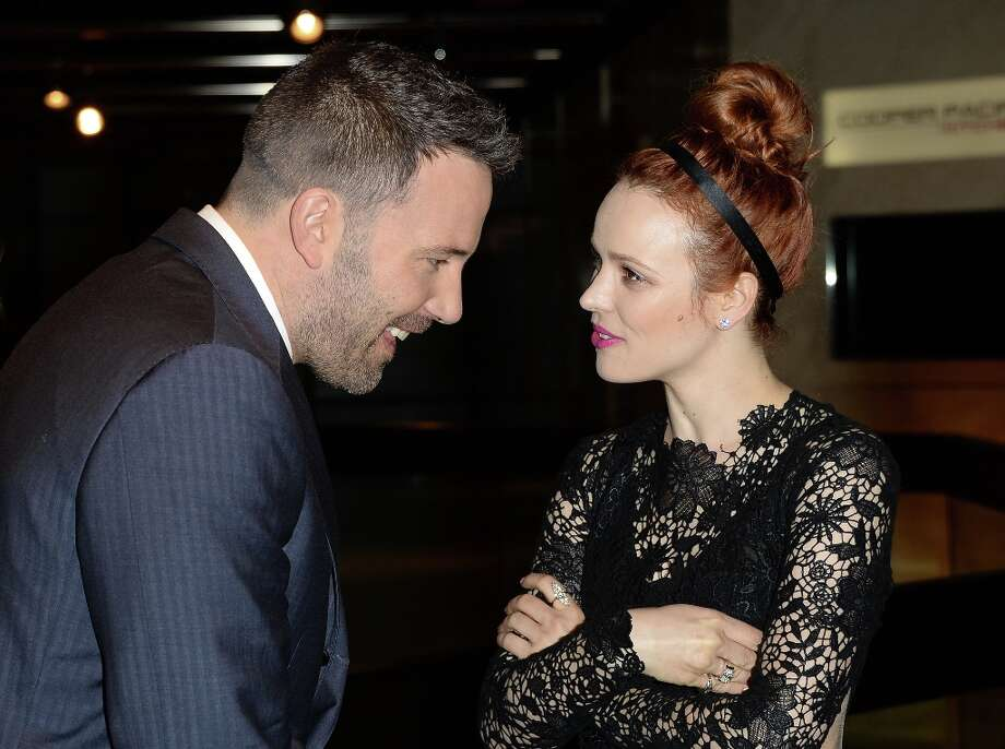 Actors Ben Affleck and Rachel McAdams attend the premiere of Magnolia Pictures\' \'To The Wonder\' at Pacific Design Center on April 9, 2013 in West Hollywood, California. Photo: Jason Merritt, Getty Images / 2013 Getty Images