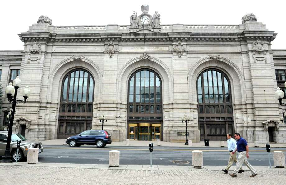Exterior of Kiernan Plaza on Wednesday, April 10, 2013 in Albany, N.Y. (Lori Van Buren / Times Union) Photo: Lori Van Buren