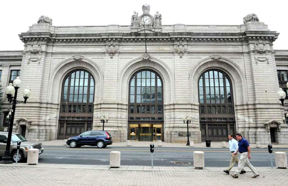 Exterior of Kiernan Plaza on Wednesday, April 10, 2013 in Albany, N.Y. (Lori Van Buren / Times Union) Photo: Lori Van Buren