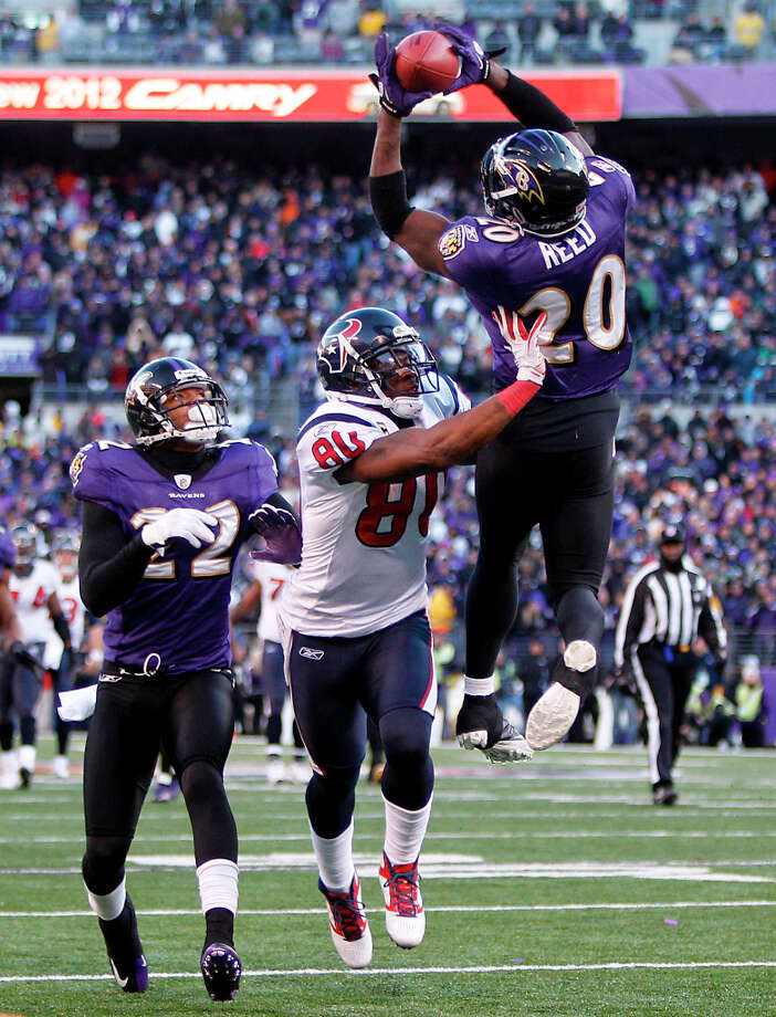 3. Texans-Ravens Sunday, Jan. 15. Channel 11 Watched by: 1,400,000 Photo: Brett Coomer, Houston Chronicle / © 2012  Houston Chronicle