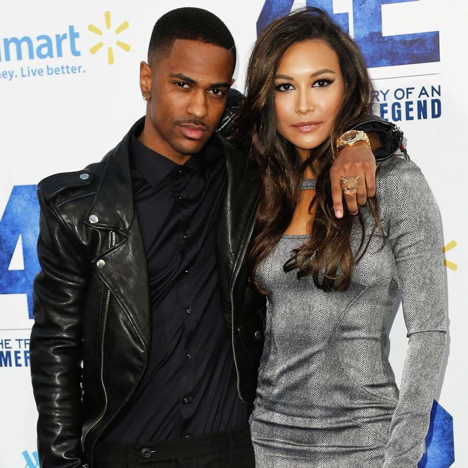 Rapper Big Sean (L) and actress Naya Rivera attend the premiere of Warner Bros. Pictures\' And Legendary Pictures\' \'42\' at TCL Chinese Theatre on April 9, 2013 in Hollywood, California. Photo: Imeh Akpanudosen, Getty Images / 2013 Getty Images