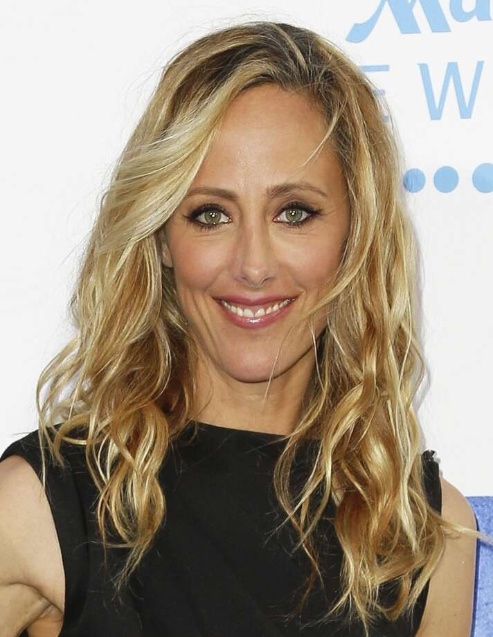 Actress Kim Raver attends the premiere of Warner Bros. Pictures\' And Legendary Pictures\' \'42\' at TCL Chinese Theatre on April 9, 2013 in Hollywood, California. Photo: Imeh Akpanudosen, Getty Images / 2013 Getty Images