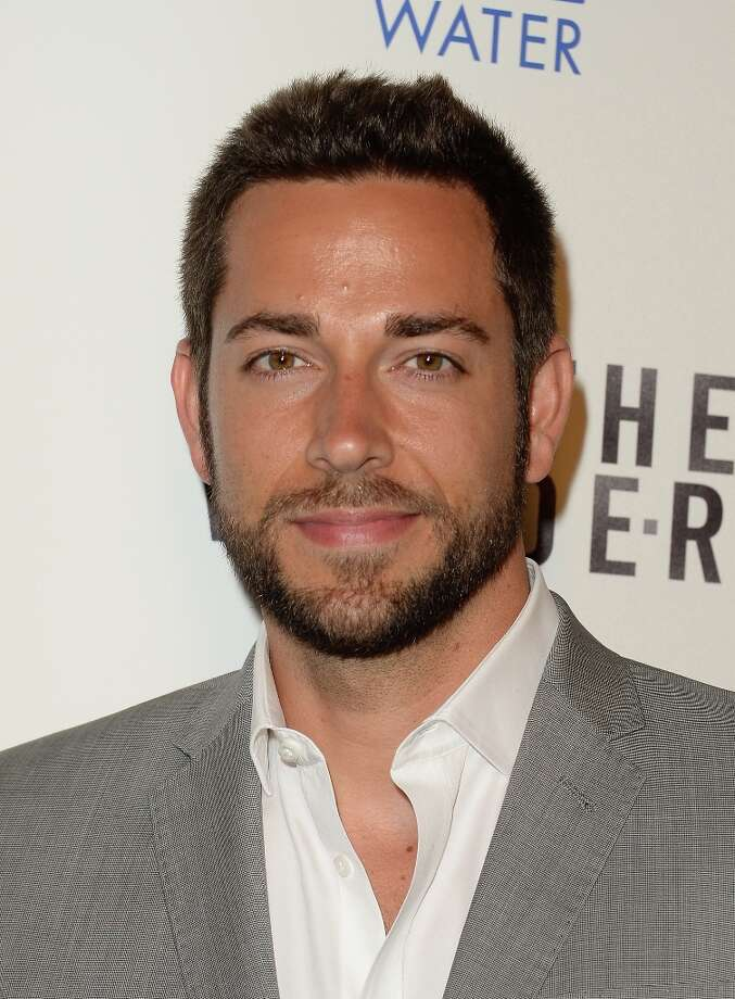 Actor Zachary Levi attends the premiere of Magnolia Pictures\' \'To The Wonder\' at Pacific Design Center on April 9, 2013 in West Hollywood, California. Photo: Jason Merritt, Getty Images / 2013 Getty Images