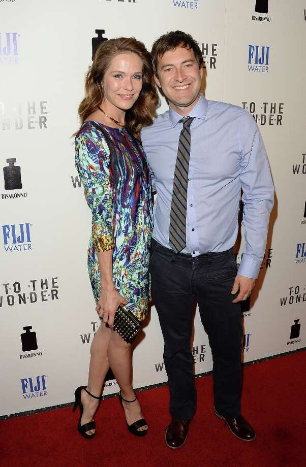 Actors Mark Duplass and Katie Aselton attend the premiere of Magnolia Pictures\' \'To The Wonder\' at Pacific Design Center on April 9, 2013 in West Hollywood, California. Photo: Jason Merritt, Getty Images / 2013 Getty Images