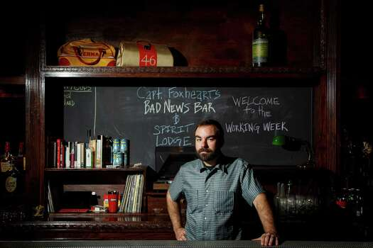 """AnvilJustin Burrow isn't a household name in Houston, but he should be. The Houston native was running the bar programs at Gravitas and  Textile restaurants four years ago when Bobby Heugel, who was slinging  drinks at Beaver's at the time, approached him about a bar he was  opening called Anvil that would focus on craft cocktails made properly.  Anvil, of course, would quickly become the progenitor of Houston's craft  cocktail boom. """"We were the only two guys doing research, tinkering with recipes,  making our own ingredients, using fresh juice and just doing things the  right way, stirring things that are supposed to be stirred and shaking  things that are supposed to be shaken,"""" recalls Burrow.One thing you may not know about Burrow:""""My favorite drink for years and years has been a Manhattan. It's simple,  classic, easy, masculine, all of the things that a cocktail is in my  mind."""" Photo: Michael Paulsen, Staff / © 2013 Houston Chronicle"""