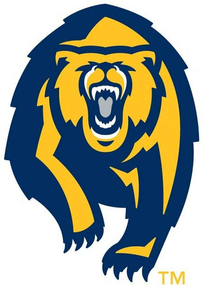This image released by the University of California at Berkeley athletic department shows their new logo of the Golden Bear. On Wednesday April 10, 2013 the athletic department introduced Cal's new uniforms in football, volleyball and basketball designed by Nike, as well as a new look for the Golden Bear. (AP Photo/University of California at Berkeley) Photo: Uncredited, Associated Press