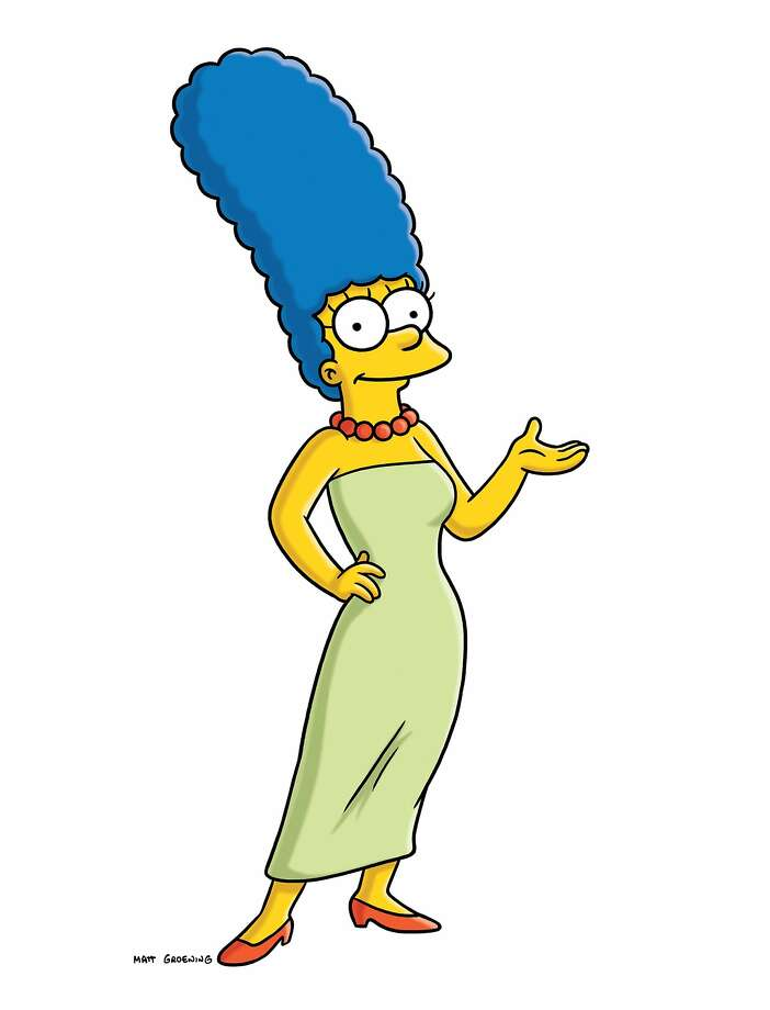 "Julie Kavner (voice) as Marge Simpson in ""The Simpsons.""Motherly advice: ""Lisa, I apologize to you. I was wrong, I take it all back. Always be yourself. If you want to be sad, honey, be sad. We'll ride it out with you, and when you get finished feeling sad, we'll still be there. From now on, let me do the smiling for both of us."" Photo: Fox, AP"