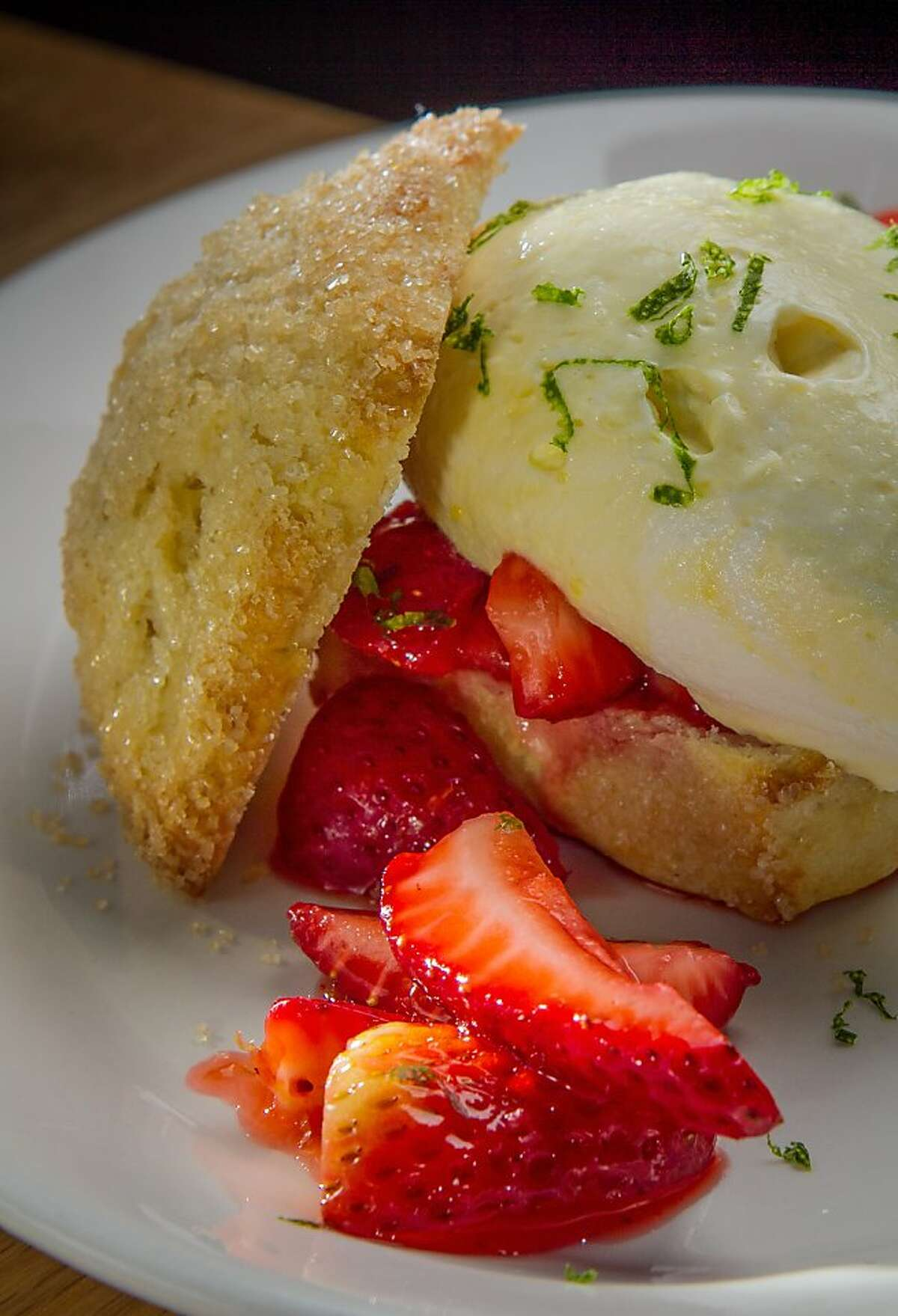 The Strawberry Shortcake at Hi Lo BBQ in San Francisco, Calif., is seen on Thursday, April 4th, 2013.
