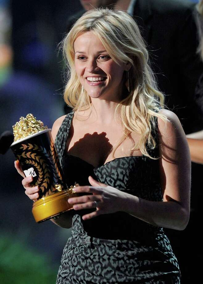 Actress Reese Witherspoon accepts the MTV Generation Award onstage during the 2011 MTV Movie Awards at Universal Studios' Gibson Amphitheatre on June 5, 2011 in Universal City, California. Photo: Kevin Winter, Getty Images / 2011 Getty Images