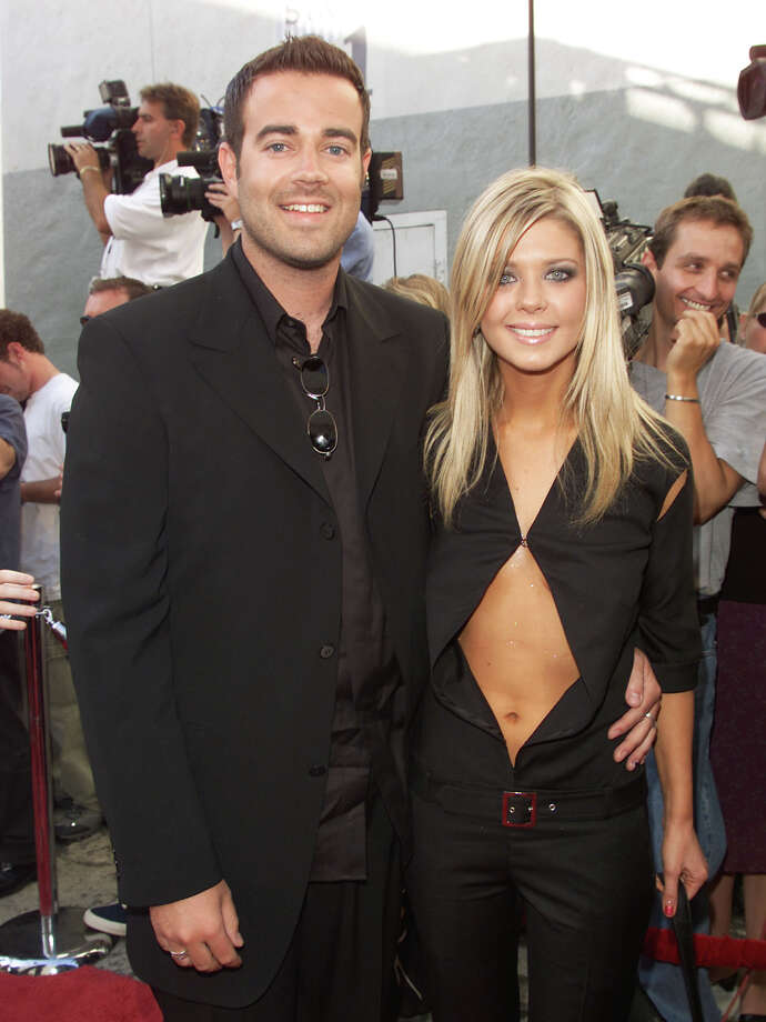 One-time couple Carson Daly and Tara Reid at the MTV Movie Awards 2000 on June 03, 2000 Photo: Frank Micelotta, Getty Images / Getty Images North America