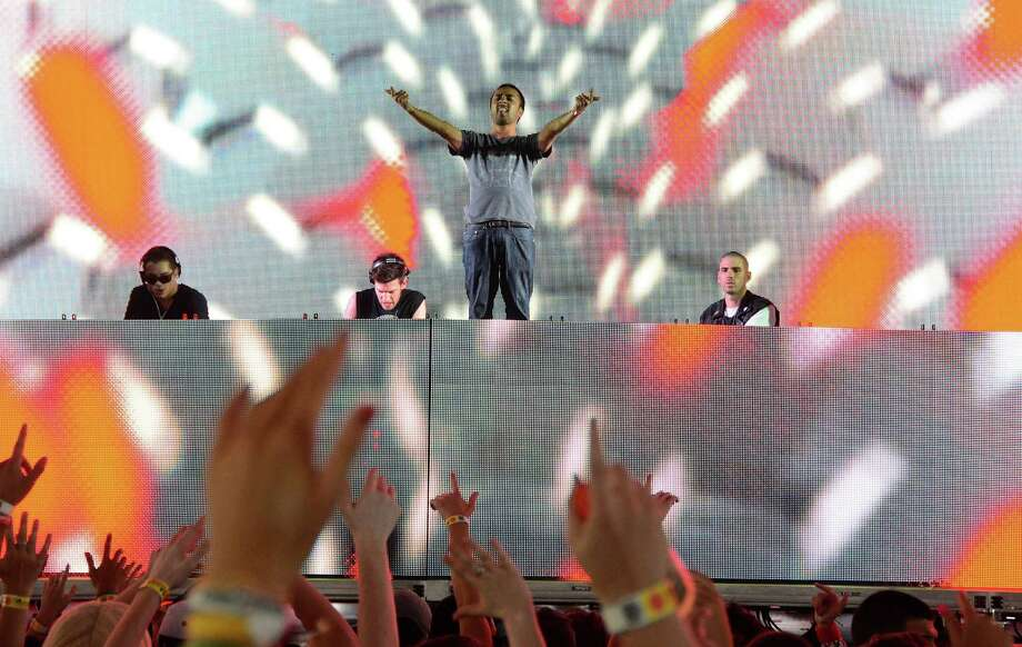 Dirtyphonics will be one of the co-headliners at Euphoria on Saturday. Photo: WireImage