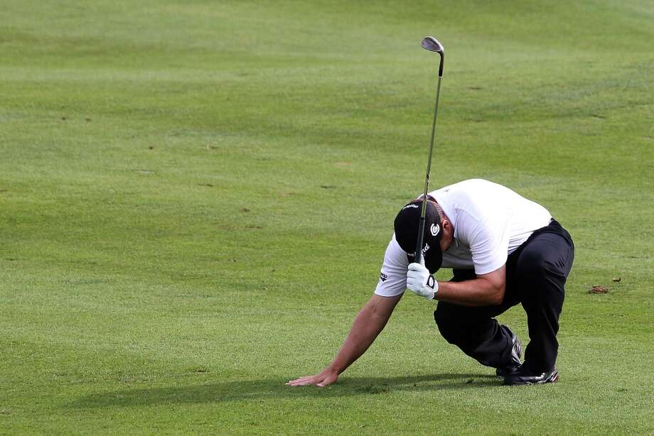 Cromwell has sold 11 lottery tickets with payout of at least $10,000, for a total amount of more than $380,000 from the big tickets.  Roland Thatcher reacts after hitting his ball in a bunker of the 18th green during the final round of the 2012 Travelers Championship at TPC River Highlands on June 24, 2012 in Cromwell, Connecticut.  (Photo by Jim Rogash/Getty Images)
