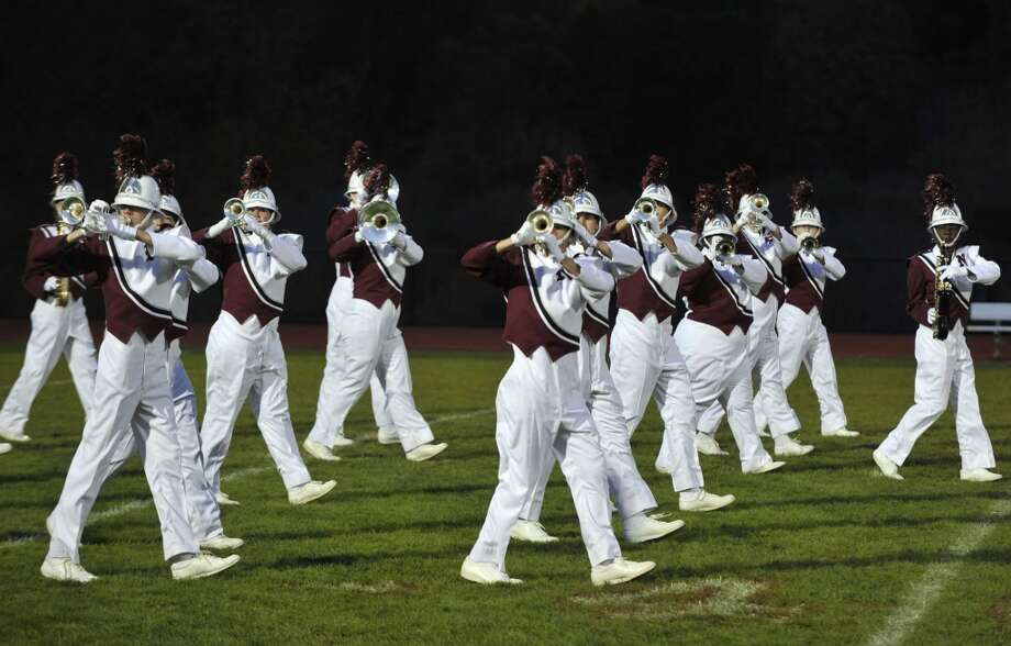 Naugatuckhas sold 13 lottery tickets with payout of at least $10,000, for a total amount of more than $2.7 million from the big tickets.  Naugatuck High School marching band members perform at the annual Quest for the Best marching band and color guard competition at Bethel High School on Saturday, Oct. 13, 2012.