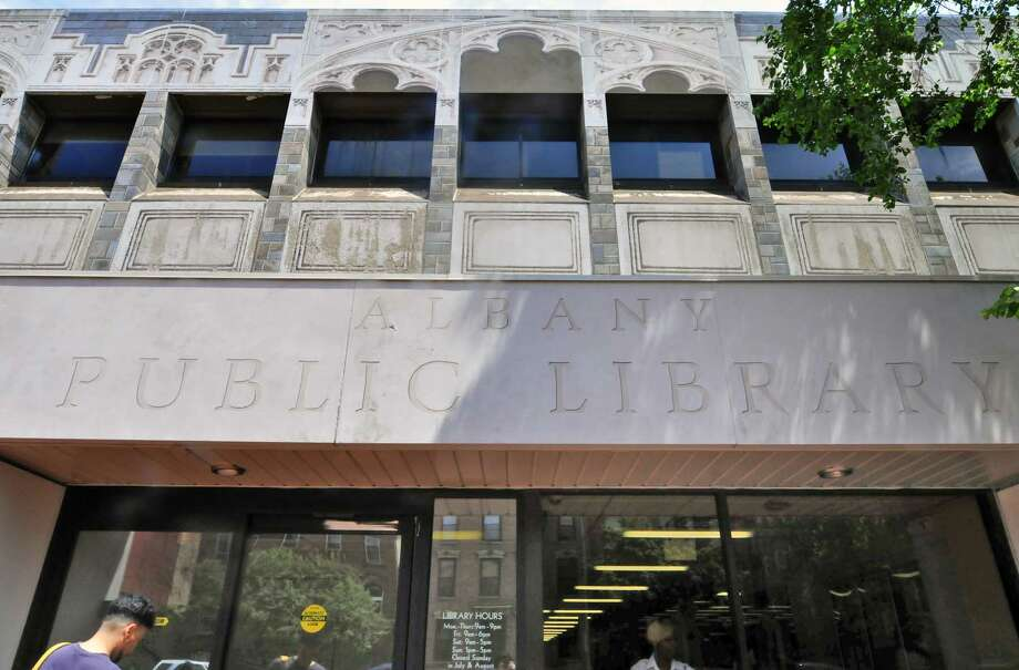 The main branch of the Albany Public Library on Wasington Avenue in Albany, NY Friday May 27, 2011.( Michael P. Farrell/Times Union archive) Photo: Michael P. Farrell
