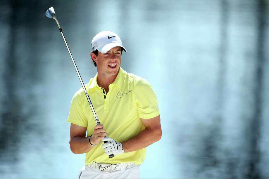 AUGUSTA, GA - APRIL 10:  Rory McIlroy of Northern Ireland looks at a shot during the Par 3 Contest prior to the start of the 2013 Masters Tournament at Augusta National Golf Club on April 10, 2013 in Augusta, Georgia.  (Photo by Andrew Redington/Getty Images) Photo: Andrew Redington