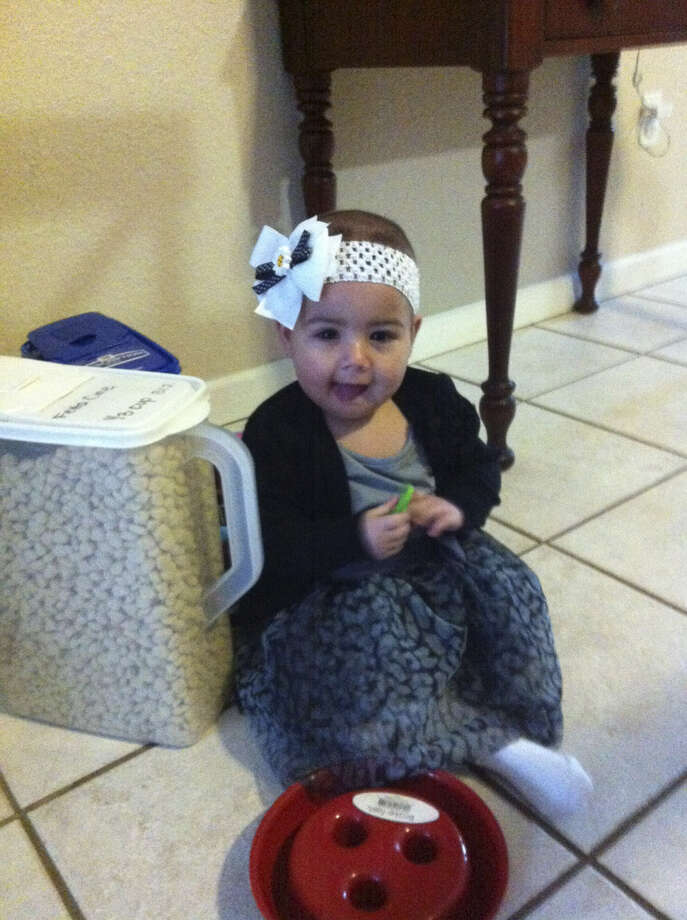 Kylie Lucas, who had infantile leukemia, died in early February at 21 months. Photo: Courtesy Photo