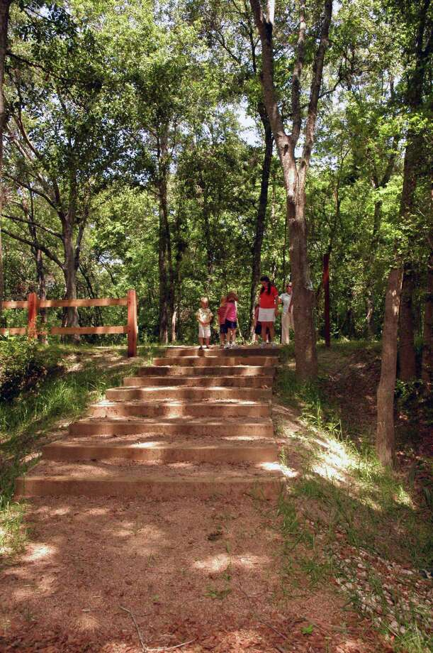 An extension of the Cypress Creek Nature Trail in Bridgeland includes a new mountain bike trail.