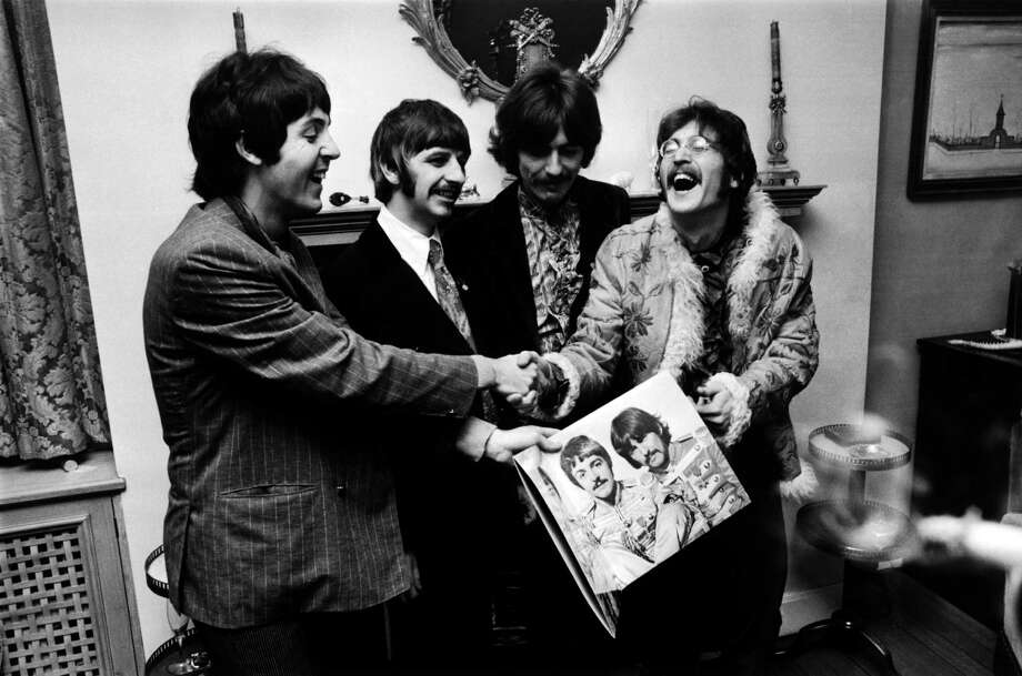 "The BBC banned a few Beatles songs, including ""A Day in the Life,"" ""I am the Walrus,"" ""Lucy in the Sky With Diamonds."" Photo: John Downing, Getty Images / Hulton Archive"