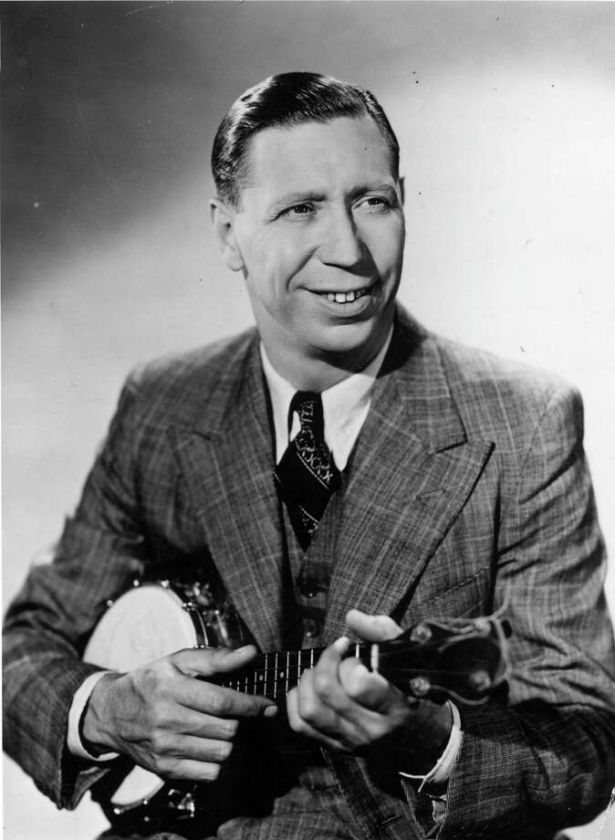 "English singer, actor and comedian George Formby's ""When I'm Cleaning Windows"" was probably one of the only ukelele songs to be censored by the BBC for ""smutty lyrics,"" which included the lines: The blushing bride she looks divine/
