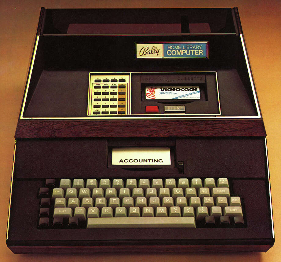 1977: Bally Home Library Computer.