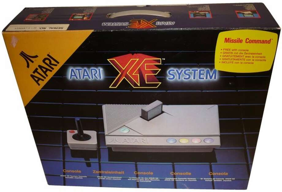 1987: Atari XE Video Game System.