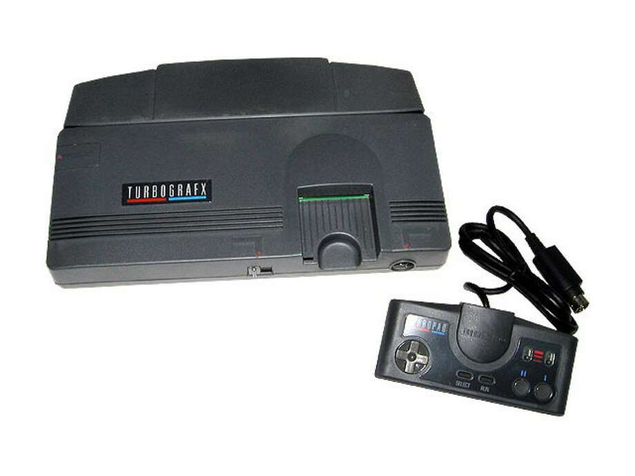 1987: TurboGrafx-16 from Hudson Soft Co. and NEC Corp. 1988:TurboGrafx CD add-on