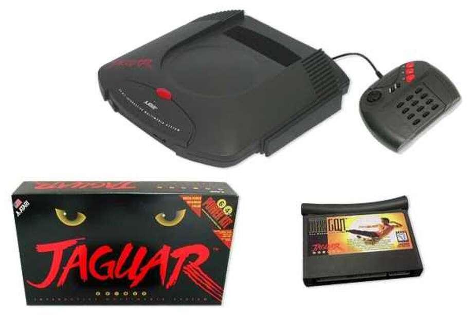 1993: Atari Jaguar. 1995: Atari Jaguar CD add-on