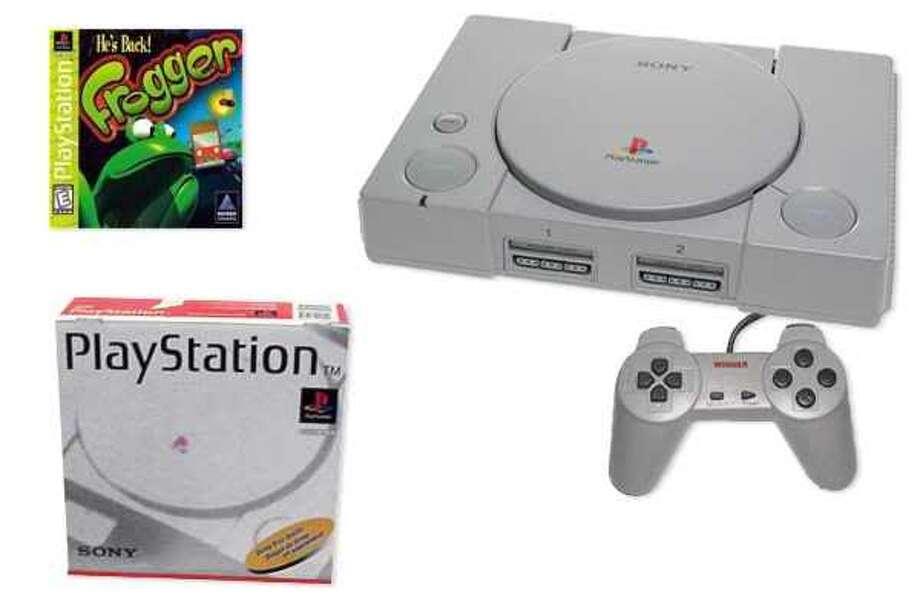 1994: Sony's PlayStation.