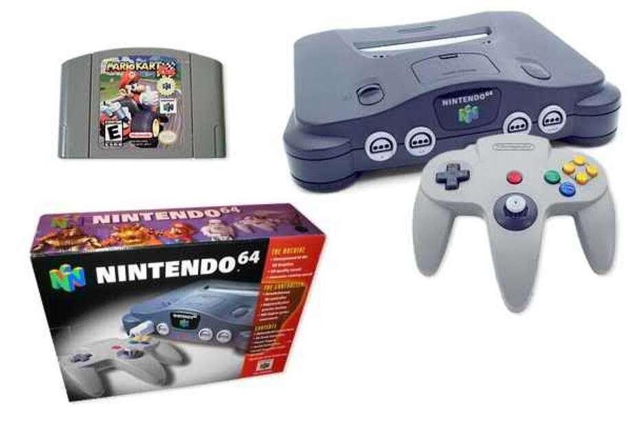 1996: The Nintendo 64.