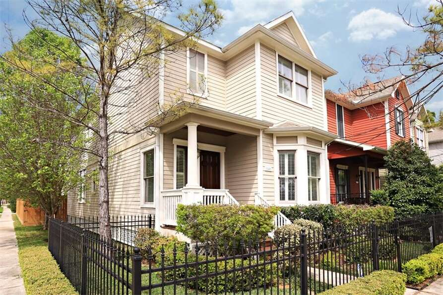 1245 W 21st: This Heights-area home features three bedrooms and two bathrooms in more than 2,100 squ