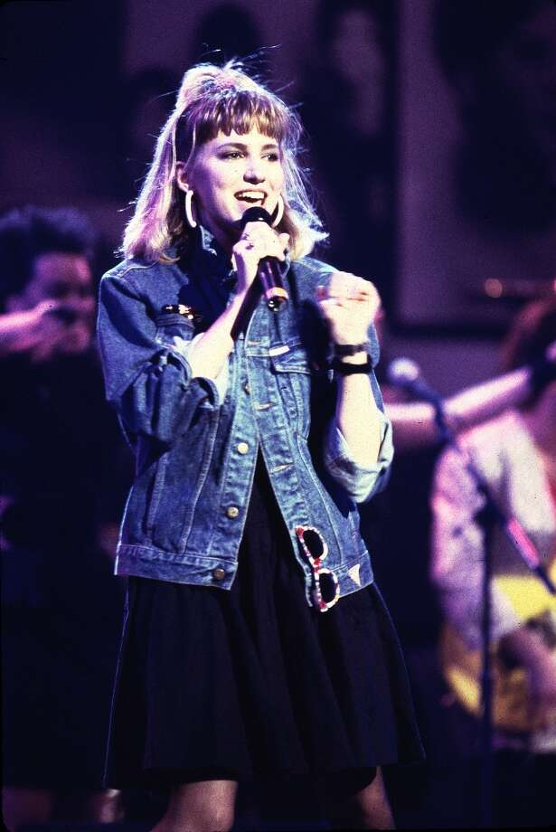 Debbie Gibson at the 40th Anniversary Tribute to Atlantic Records at Madison Square Gardens in New York City in 1988. Photo: Paul Natkin, WireImage / WireImage