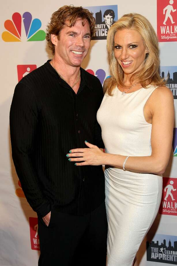 """Debbie Gibson (R) and Dr. Rutledge Taylor attend the \""""Celebrity Apprentice\"""" Live Finale at American Museum of Natural History on May 20, 2012 in New York City. Photo: Steve Mack, FilmMagic / 2012 Steve Mack"""