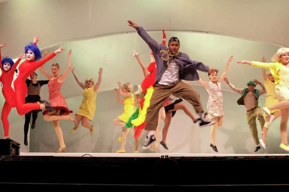 "Episcopal High School students perform in ""Seussical,"" the school's entry in the Tommy Tune Awards. Photo: Episcopal High School"