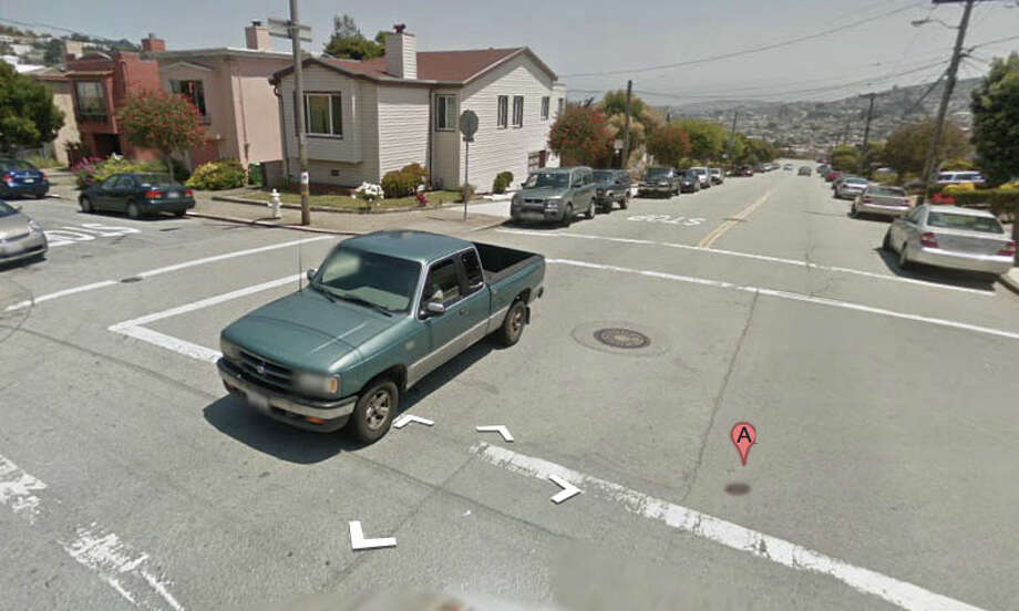 Judson Avenue and Edna Street, San Francisco, CA Photo: Google Maps