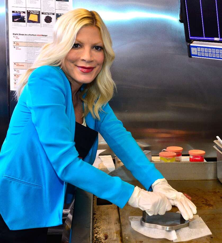 Actress Tori Spelling will be 40 in just one month. (Photo by Jerod Harris/WireImage) Photo: Jerod Harris, WireImage / 2013 WireImage