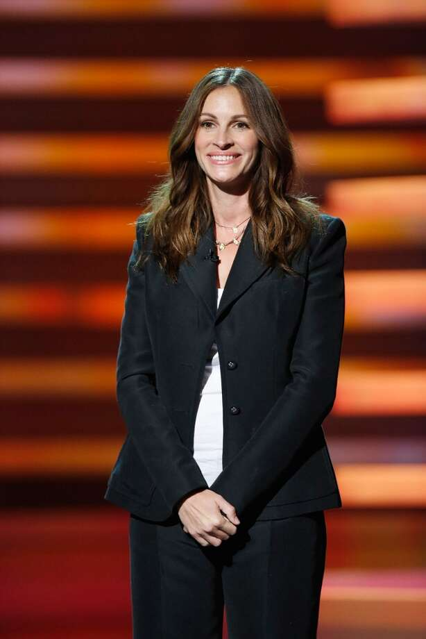 Actress Julia Roberts (Photo by Kevin Mazur/American Broadcasting Companies Inc via WireImage) Photo: Handout, WireImage / 2012 American Broadcasting Companies, Inc