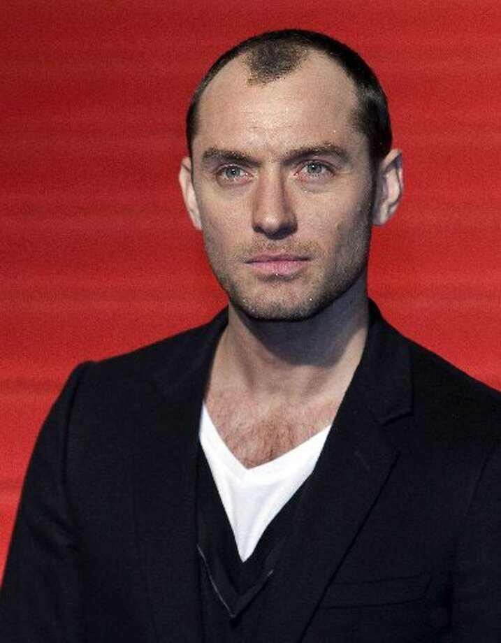 Actor Jude Law Photo: AP Photo/Shizuo Kambayashi