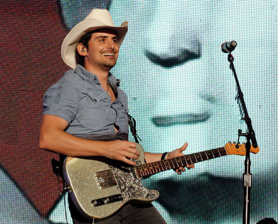 Country singer Brad Paisley Photo: Chip English, AP / FR91082 AP