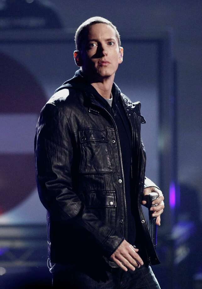 Rapper Eminem Photo: Matt Sayles / AP