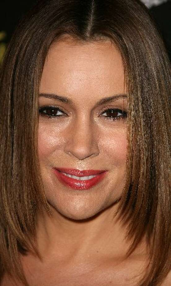 Actress Alyssa Milano Photo: Frederick M. Brown/Getty Images